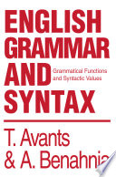 English Grammar and Syntax