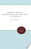 German Social Democracy and the Rise of Nazism