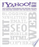 The Yahoo  Style Guide