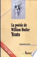 La po  sie de William Butler Yeats