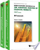 Strategic Analysis Of Financial Markets  The  In 2 Volumes