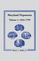 Maryland Deponents  1634 1799