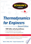 Schaum s Outline of Thermodynamics for Engineers  2ed