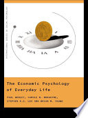 The Economic Psychology of Everyday Life