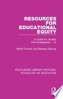 Resources for Educational Equity