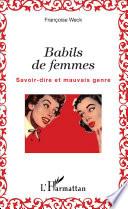 Babils de femmes
