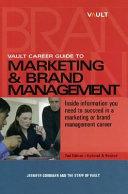 Vault Career Guide to Marketing & Brand Management
