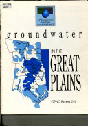 Groundwater in the Great Plains