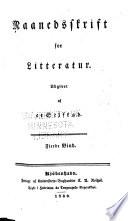 Maanedsskrift for litteratur