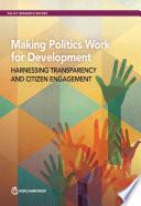 Making Politics Work for Development