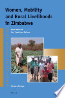 Women, Mobility and Rural Livelihoods in Zimbabwe Women Play In A Post