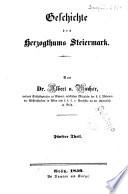 Geschichte des Herzogthumes Steiermark