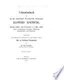 Urkundenbuch des in der Grafschaft Wernigerode belegenen Klosters Ilsenberg ...