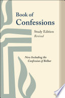Book of Confessions  Study Edition  Revised