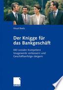 Der Knigge für das Bankgeschäft