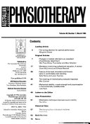 The Australian Journal of Physiotherapy