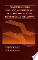 Computer Aided Analysis of Difference Schemes for Partial Differential Equations