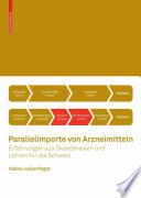 Parallelimporte von Arzneimitteln