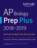 AP Biology Prep Plus 2018 2019