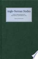 Anglo Norman Studies 34