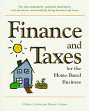 Finance and Taxes for the Home based Business