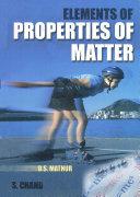 Elements Of Properties Of Matter