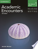 Academic Encounters Level 1 Student s Book Reading and Writing