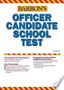 Barron s Officer Candidate School Test