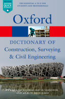 download ebook a dictionary of construction, surveying, and civil engineering pdf epub