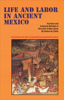 Life and Labor in Ancient Mexico