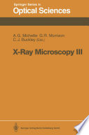 X Ray Microscopy III