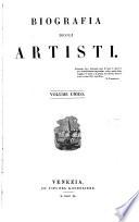 Biografia degli artisti (compilatore, F. de Boni).