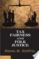download ebook tax fairness and folk justice pdf epub