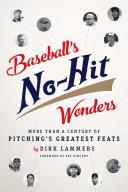 Baseball s No Hit Wonders