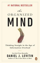 The Organized Mind-book cover