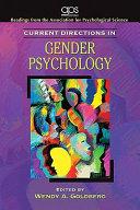 Current Directions in Gender Psychology