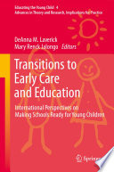 Transitions To Early Care And Education