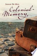 Colonial Memory book