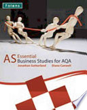 Essential Business Studies A Level As Student Book For Aqa