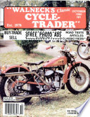 WALNECK S CLASSIC CYCLE TRADER  OCTOBER 1990