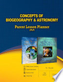 Concepts of Biogeography   Astronomy Parent Lesson Planner