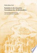 Kaskaden in der deutschen Gartenkunst des 18. Jahrhunderts