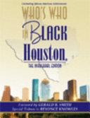 Who s Who In Black Houston Book PDF