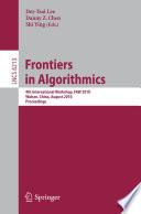 Frontiers in Algorithms