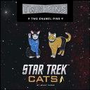 Star Trek Cats Twin Pins