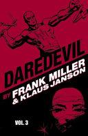 Daredevil by Frank Miller   Klaus Janson