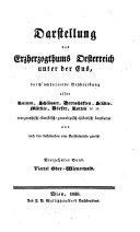 Darstellung des Erzherzogthums Oesterreich unter der Ens0