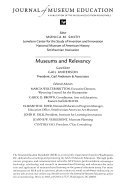 The Journal of Museum Education