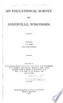 An Educational Survey of Janesville  Wisconsin