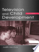 Television and Child Development